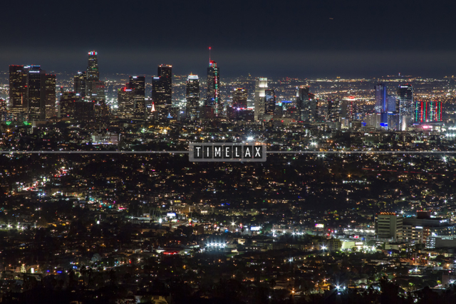 Los Angeles Time-Lapse the L.A. Skyline From Griffith Park