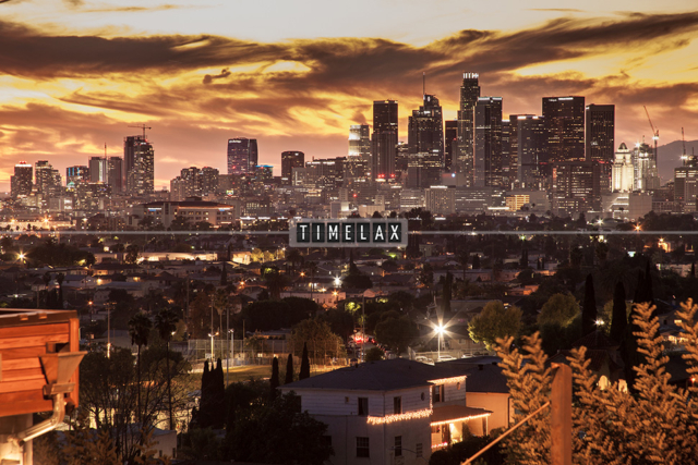 Los Angeles Time-Lapse Sunset From East L.A.