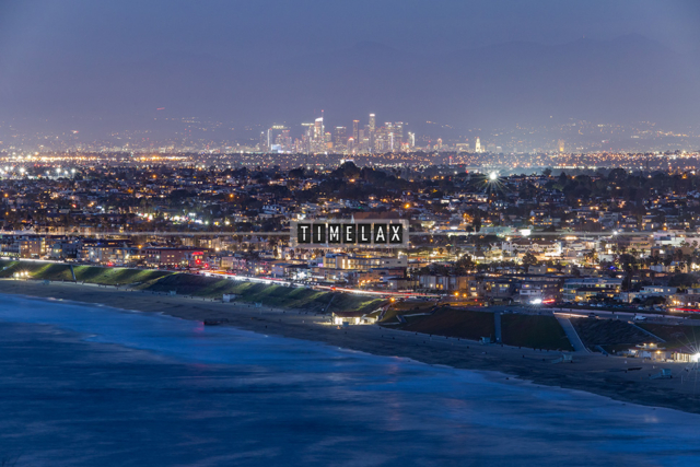 Los Angeles Time-Lapse Redondo Beach and the L.A. Skyline