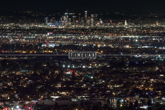 Los Angeles Time-Lapse the South Bay and the L.A. Skyline